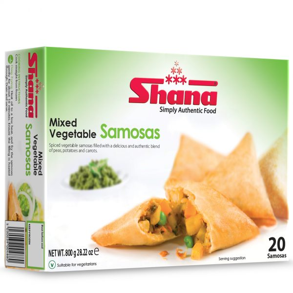 Mixed Vegetable Samosas