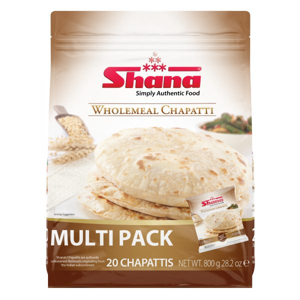 Wholemeal Chapatti Multipack