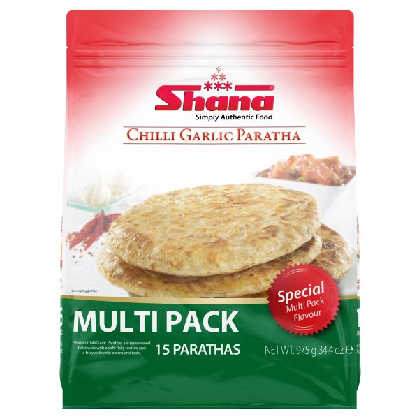Chilli Garlic Paratha Multi Pack