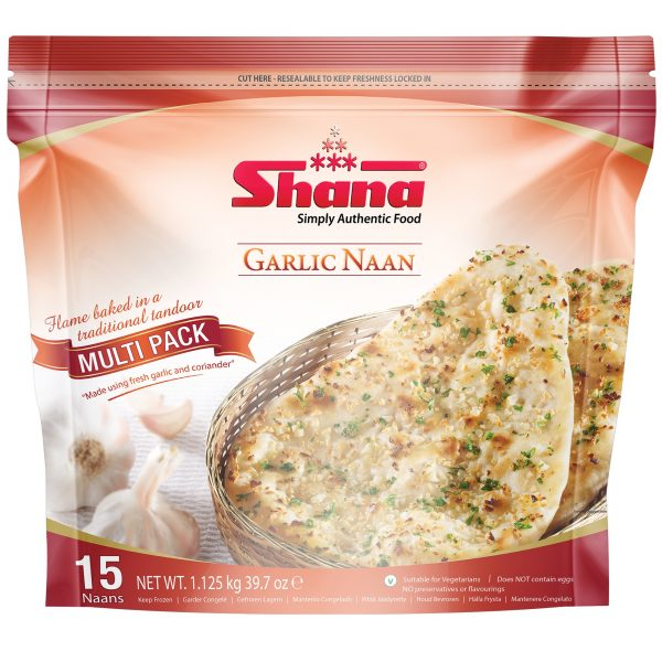 Garlic Naan Multipack